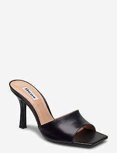 Mantra - mules & slipins - black leather