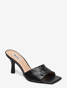 MONTREAL - mules - black-leather