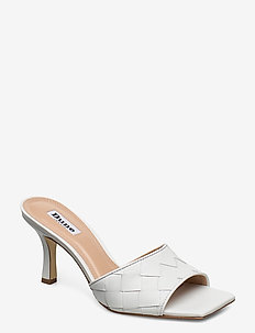 MONTREAL - mules & slipins - white-leather