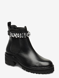 PLAYFUL - chelsea boots - black