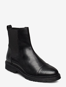 PAYSAN - chelsea boots - black-leather