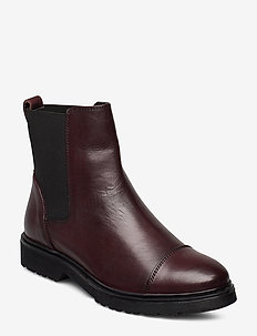 PAYSAN - chelsea boots - burgundy-leather