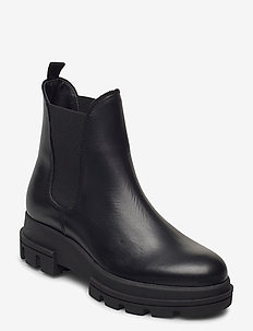 Provense - chelsea boots - black leather