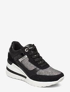 ELOUERA - sneakers - black leather