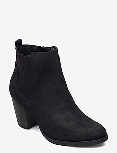 PINTOSY - heeled ankle boots - black