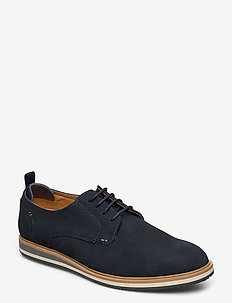 Bucatini - navy - nubuck