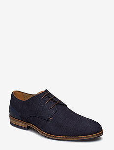 BARRIE - NAVY-SUEDE