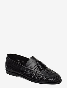 Burlingtons - loafers - black - leather