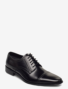Sunset - chaussures lacées - black leather