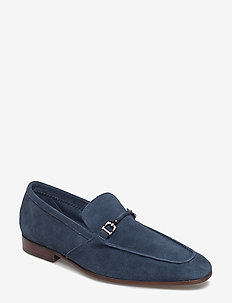 PAULINHO - loafers - navy-suede