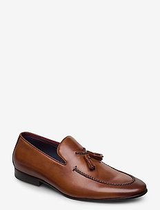 Spirited - loafers - tan - leather