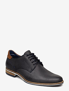 BRAMPTON - NAVY-LEATHER
