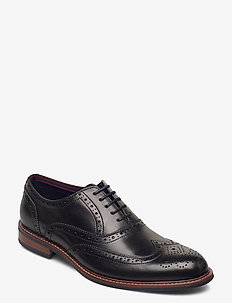 Pollodium - snøresko - black leather