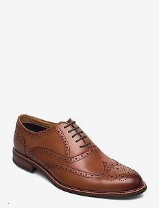 Pollodium - chaussures lacées - tan leather