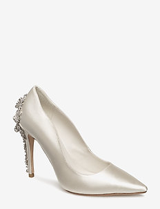 BE WEDD - klassiska pumps - ivory
