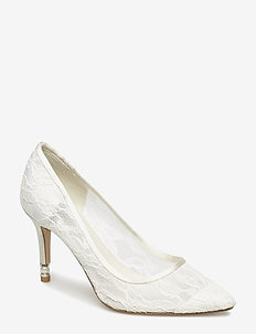 AISLE - klassiska pumps - ivory satin