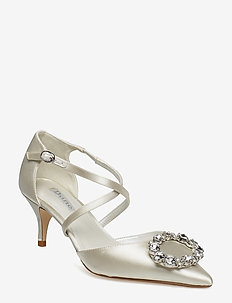 CRUSHING - klassiska pumps - ivory-satin