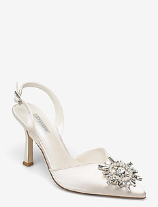 Casise - slingbacks - ivory satin