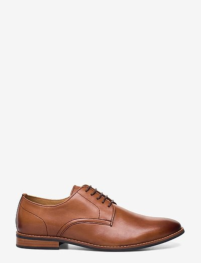 Dune London Suffolks- Business Tan Leather