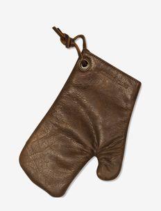 Oven Glove - grydelapper & ovnhandsker - colour vintage brown