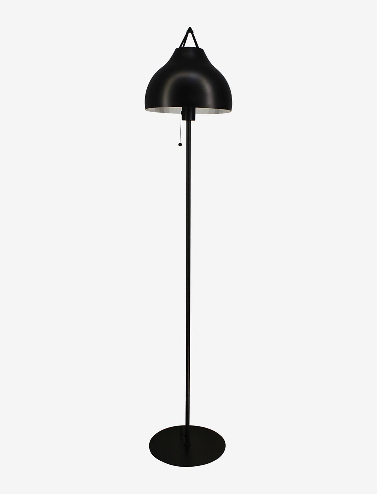 Dyberg Larsen - PYRA Floorlamp - gulvlamper - black - 0