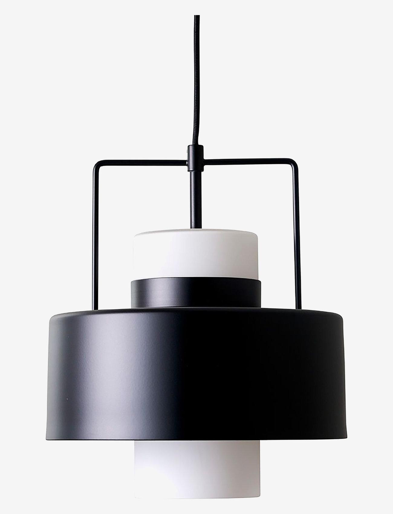 Dyberg Larsen - Olympia Pendant - pendler - black with opal - 0