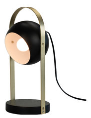 Geneve Tablelamp - BLACK WITH MESSING