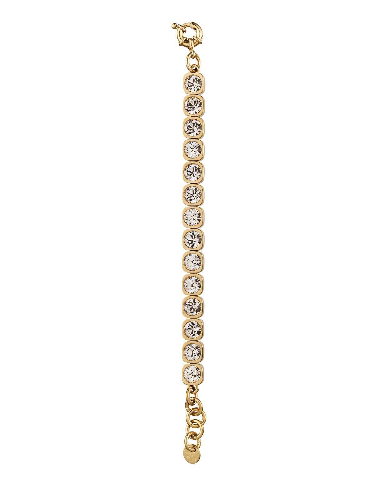Dyrberg/Kern conian bracelet - SHINY GOLD CRYSTAL