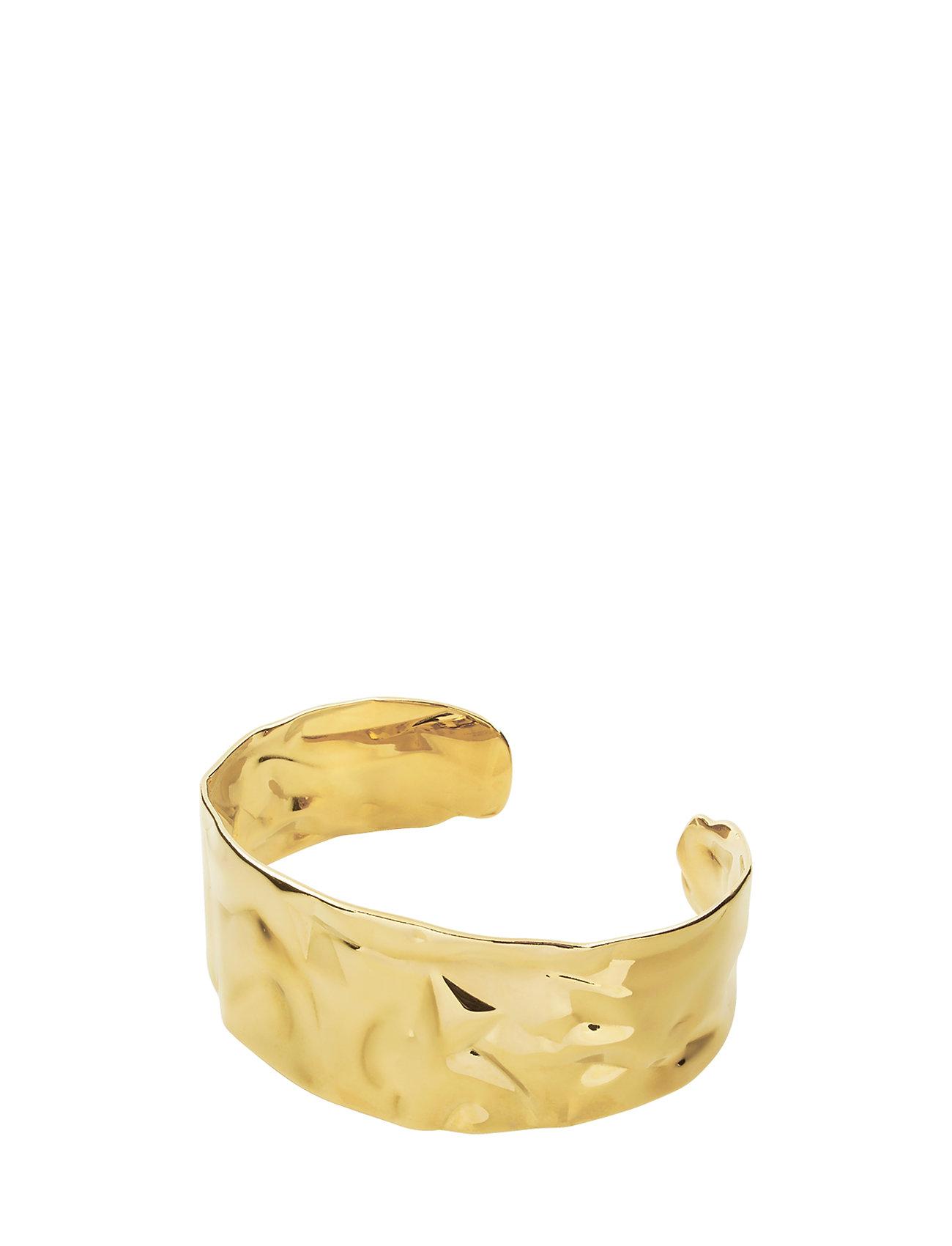 3d11f692 SHINY GOLD Dyrberg Structia armbånd for dame - Pashion.dk