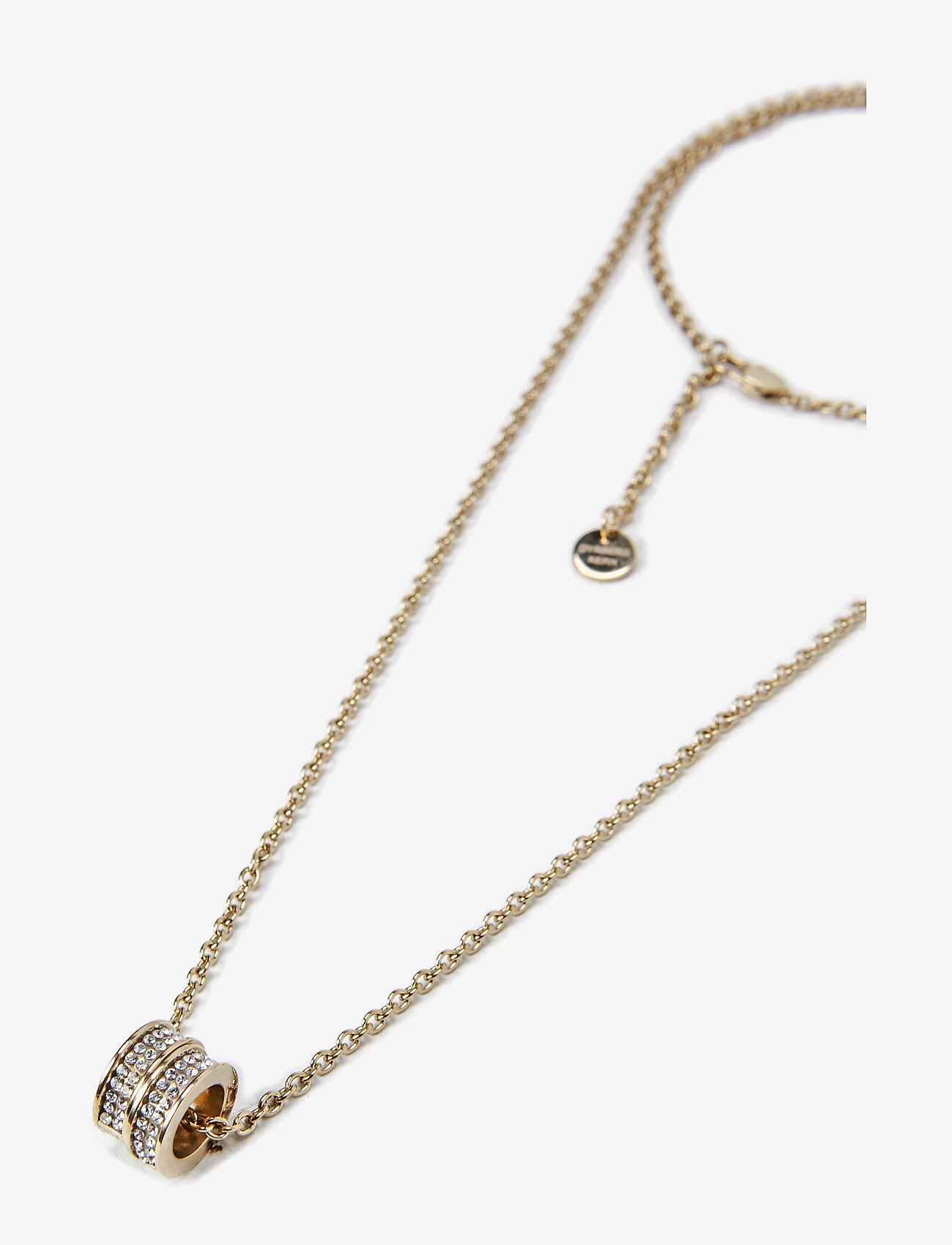 Dyrberg/Kern - FERMI - kaklarotas ar kulonu - shiny gold crystal - 1