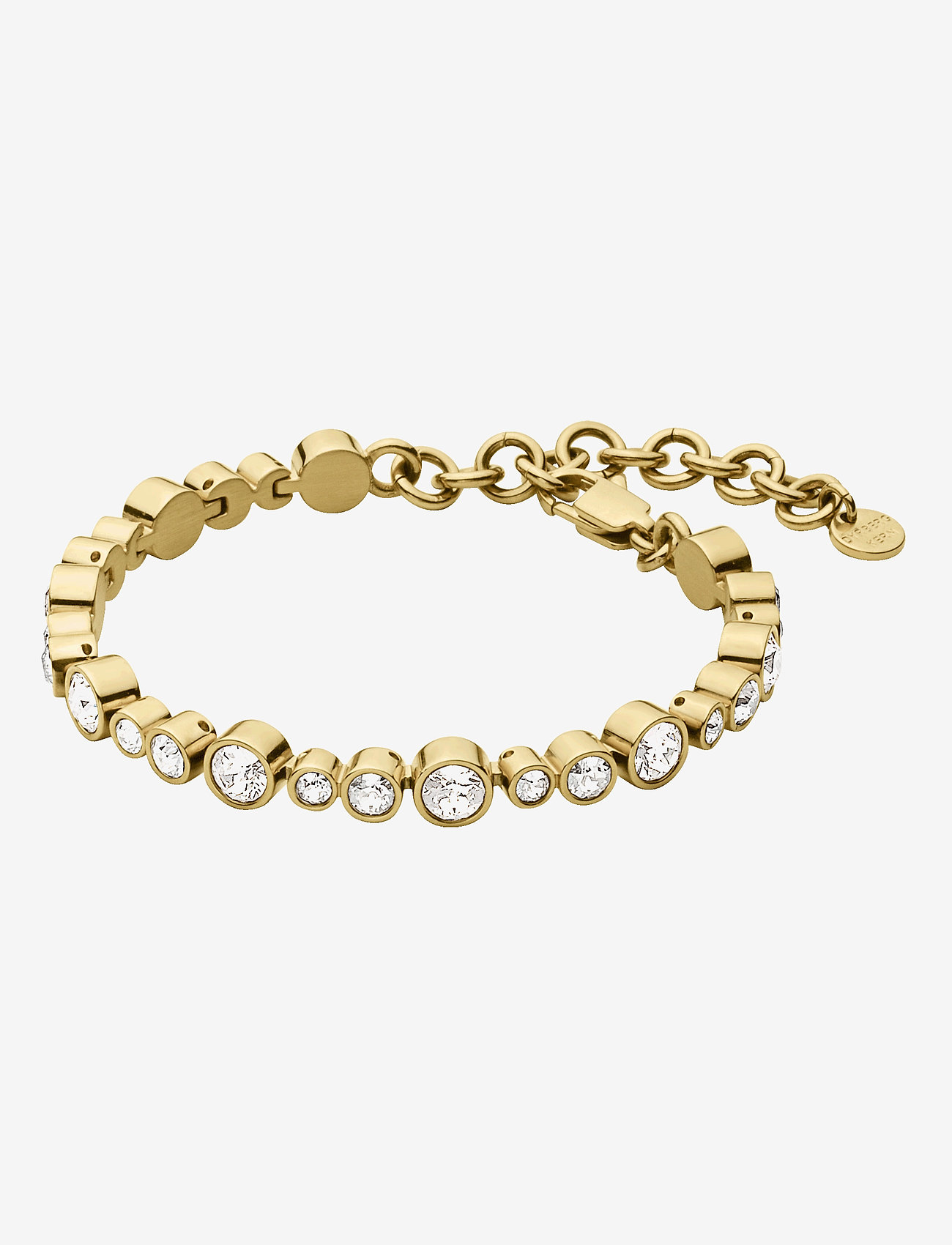 Dyrberg/Kern - TERESIA SG CRYSTAL - dainty - gold crystal - 1