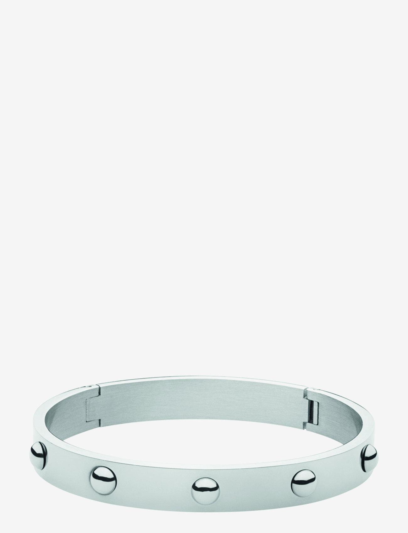 Dyrberg/Kern - DOTT I SHINY SILVER - bangles - silver tone - 1