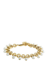 CHARVI SG WHITE BRACELET - GOLD WHITE