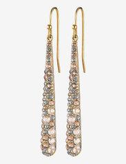 Dyrberg/Kern - BLAZE SG GOLDEN - statement earrings - golden/gold - 1