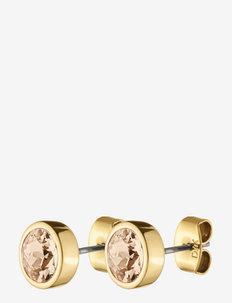 NOBLE, earring SG GOLDEN - stud oorbellen - golden/gold
