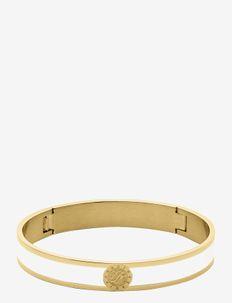 pennika, bracelet, I, SG WHITE - bangles - gold white
