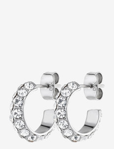 HEIDI earring ss/crystal - hopen - crystal/silver