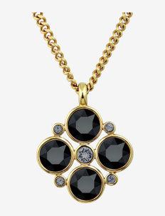 MAUDE SG BLACK - kettingen met hanger - black/gold