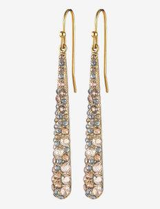 BLAZE SG GOLDEN - statement earrings - golden/gold