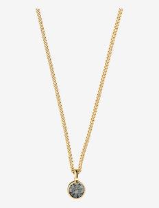 JEMMA SG GREY - kettingen met hanger - gold grey
