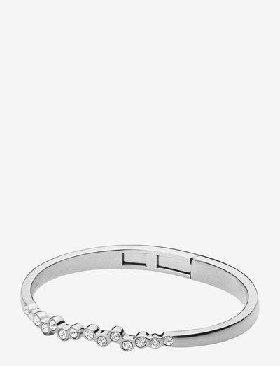 ROSA SS CRYSTAL - bangles - silver crystal