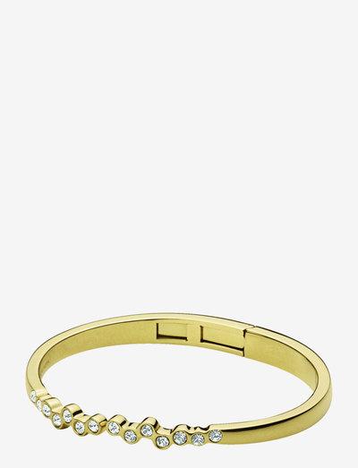 ROSA SG CRYSTAL - bangles - gold crystal