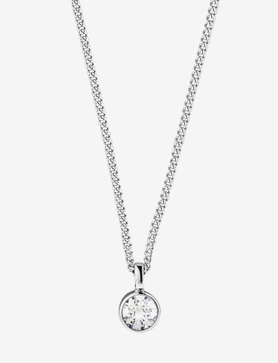 JEMMA SS CRYSTAL - halskæder med vedhæng - silver crystal