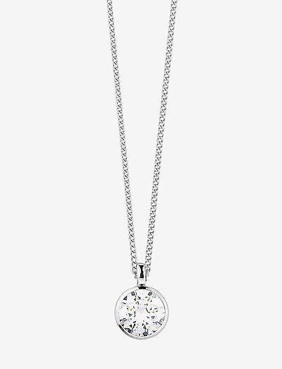 LISA SS CRYSTAL - halskæder med vedhæng - silver crystal