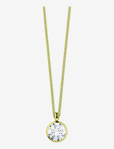 LISA SG CRYSTAL - halskæder med vedhæng - gold crystal