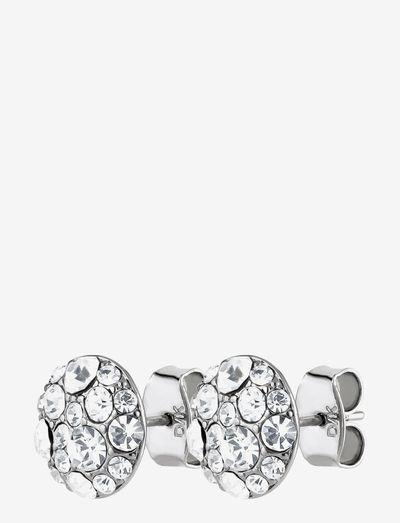 BLAIS earring ss/crystal - Ørestikker - silver crystal