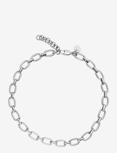 JAM necklace silver - halskæder - silver