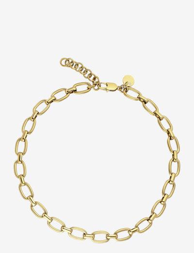 JAM necklace gold - halskæder - gold