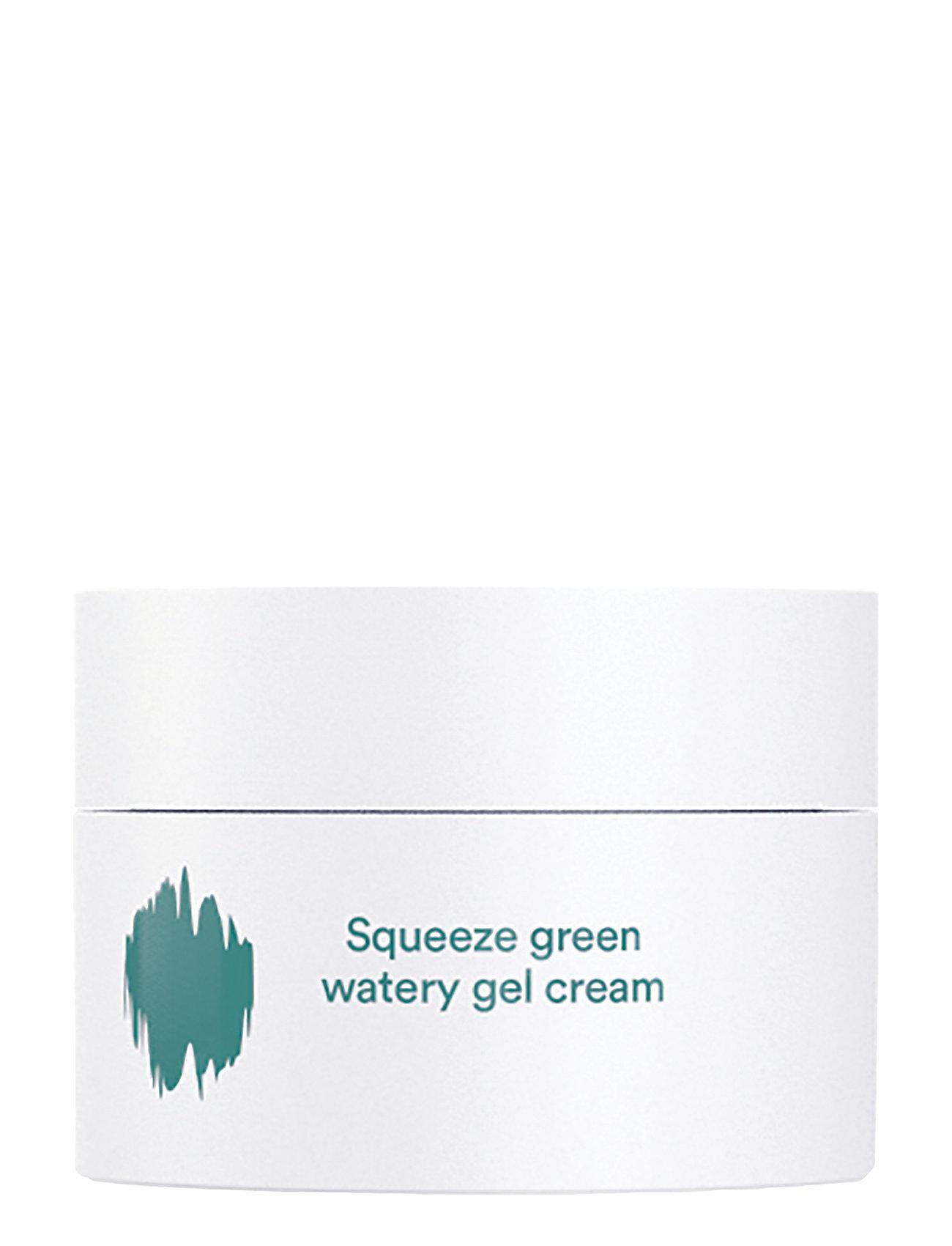 E NATURE E NATURE Squeeze green watery  Gel Cream - CLEAR