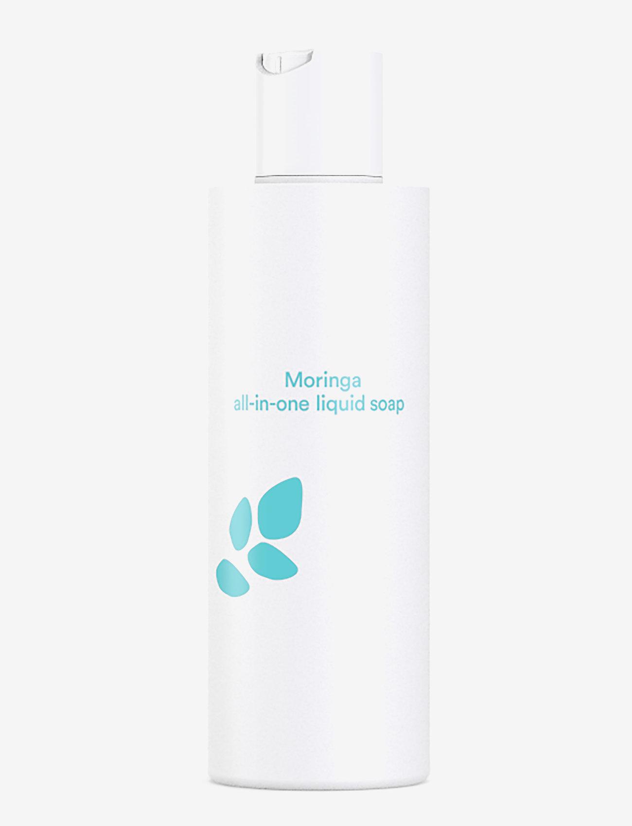 E NATURE - E Nature Moringa All-In-One Liquid Soap - håndsåpe - clear - 0